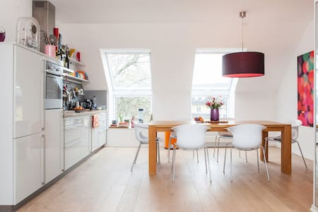 Top central: 130 qm penthouse-loft - Cologne