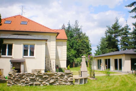 Villa with indoor pool and sauna in South Bohemia - Planá nad Lužnicí
