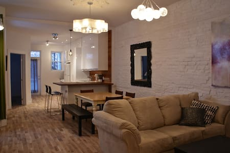 downtown 3 BR bright and big