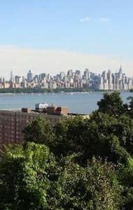 View of the Hudson and NYC - Apartamento