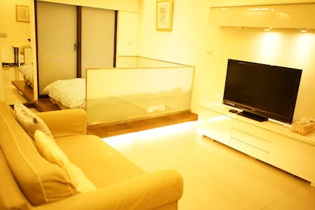 【SunnyQ VIP double】Best location at Taipei Station - Datong District - Wohnung