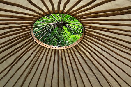 Yurt living in a beautiful nature of Raasepori - Rundzelt
