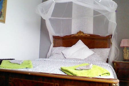 Cosy Louis XVI style double bed - Bed & Breakfast