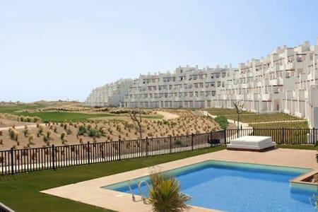 Apto con vistas golf.10min playa - Torre-Pacheco - Appartement