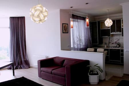 Центр, квартира с отличным ремонтом, WiFi - Wohnung