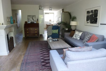 Cosy and spacious family house - Amsterdã - Casa
