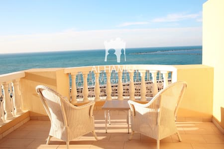 Spacious Studio, Stunning Views, Close to beaches - Al Jazirah Al Hamra