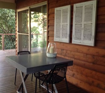 Cottage set in natural bushland - Flaxton