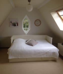 Ruime, lichte zolderkamer - Apeldoorn - Ev