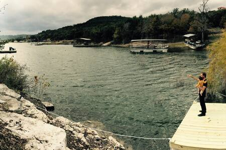 """The Lake Mahal "" on Lake Travis - Leander"