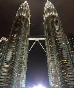 吉隆坡市中心,五星级酒店的设备,招待所的价格,独立卫生间,24小时保安 - Apartamento