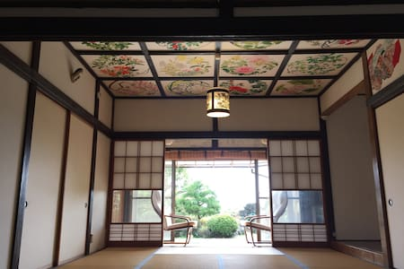 Japanese style tatami room - House