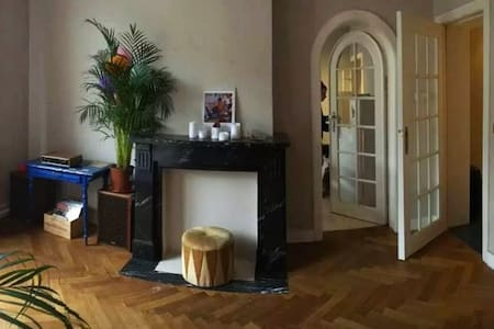 Cosy & luminous private bedroom near Flagey - Etterbeek - Appartement