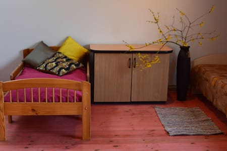 A room in Sigulda centre (4 beds + pull-out sofa) - Daire