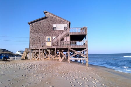 Incredible Ocean front home - Rodanthe - Hus