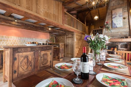 Du charme, ambiance chalet cosy ... - Bozel - Andere