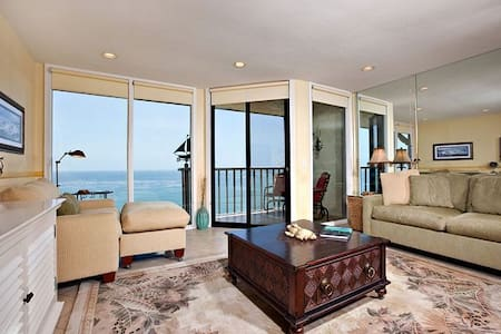Oceanfront 1 bdrm Condo in beautiful Solana Beach - Solana Beach