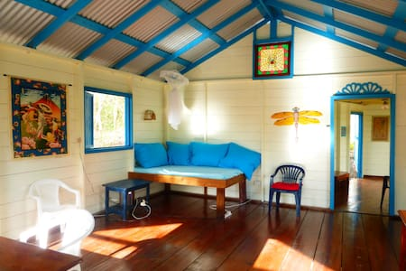 CARIBBEAN ECO HOUSE ON BEQUIA,SVG - Maison