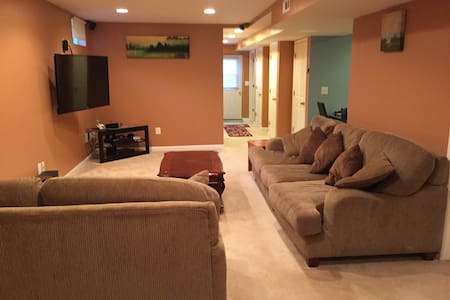 A fully equiped 2-bedroom basement unit - Casa