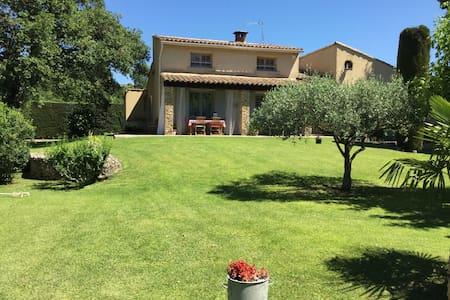 Villa provençale avec piscine - Saint-Quentin-la-Poterie - Dom