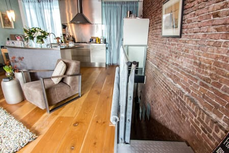 Loft in Former Warehouse - Rotterdam - Appartement