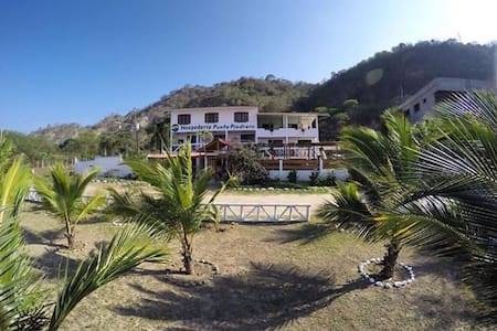 Ecolodge frente al mar, la mejor vista y ubicación - Puerto López - Pousada