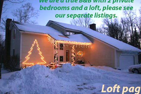 Stratton Mountain Area B&B, Loft - Winhall