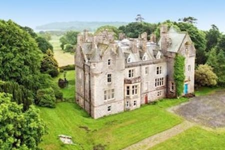 Orchardton Castle - self catering - Auchencairn