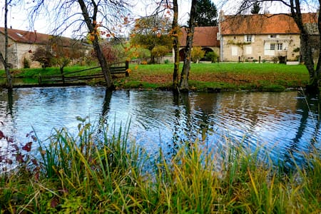 A Magic Place in Burgundy - Suite Parental - Rumah