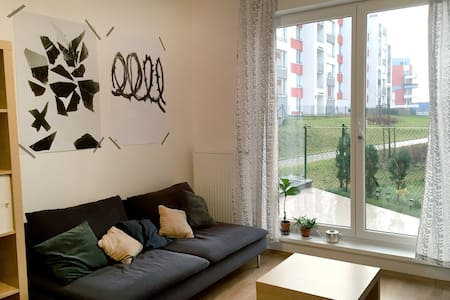 Cozy studio-apartment with garage - Wohnung