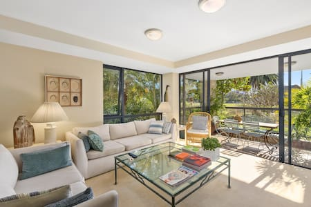 Sunny Apartment on Sydney Harbour - Rushcutters Bay - Apartment