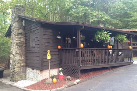 Amazing Cabin in the Woods in the Smokey Mountains - Maggie Valley - Apartment