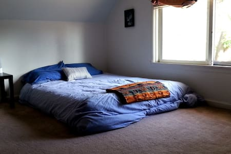 Comfy Bedroom Under the Eaves - House