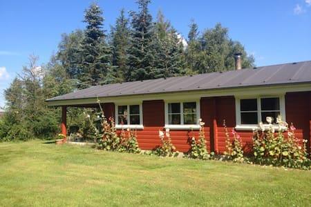 Hyggelig norsk hytte med havudsigt! - Cabanya