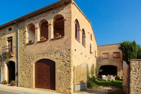 Habitación privada en masia empordanesa - Girona