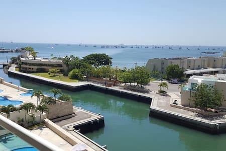 Salinas frente al mar, precioso departamento - Appartement