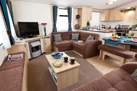 3 BED LUXURY CARAVAN (SLEEPS 8) - East Lothian - Otros