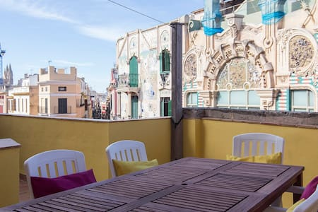 PRIVATE TOP ROOF TERRACE & BBQ - OLD TOWN - Wohnung