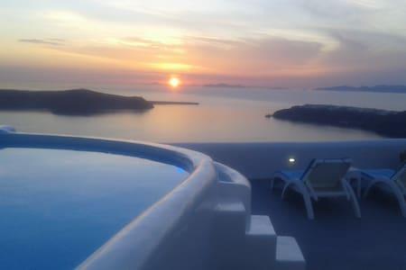 Junior Caldera Sea and Sunset view - Imerovigli - Condominio