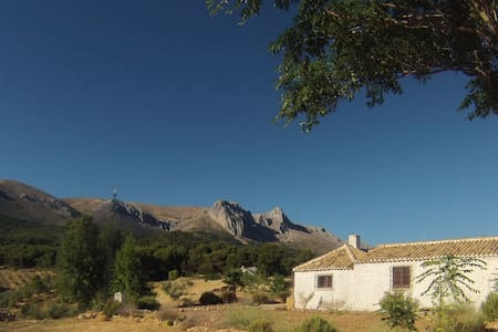 Un cortijo con vistas - Granada - Casa
