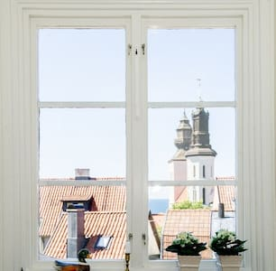 Apartment with stunning view in old town Visby - Apartment