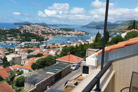 New Loft Apartment with Seaview Balcony + Parking - Dubrovnik - Apartment