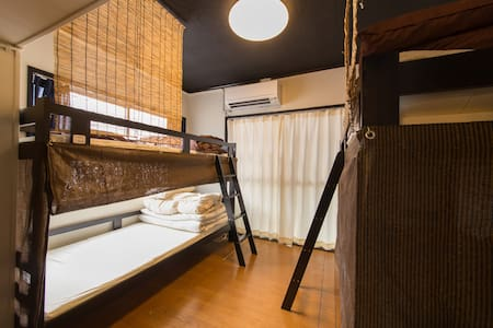 DM2②-2/ Doutonbori Guesthouse Mixed Dormitory - Guesthouse