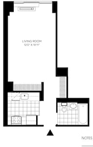 Cozy Studio in Luxury Building LIC - Queens - Apartment