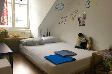 CrAzy-cOzy rOOm on tOp attic flOOr - Wien - Apartment
