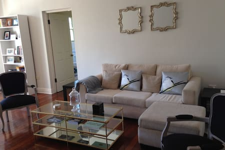 Welcome to our home! This is a bright, spacious apartment in Sydney's most elegant neighborhood, Double Bay. Fantastically convenient location near trains, ferries, beaches, restaurants, and shopping. Immerse yourself in a true Sydney experience!