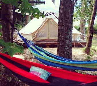 星空を見ながら素敵な夜を yougo cafe camp & glamping komagane - Komagane - Namiot