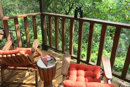 Jungle Surf Retreat- Dominical - Treehouse