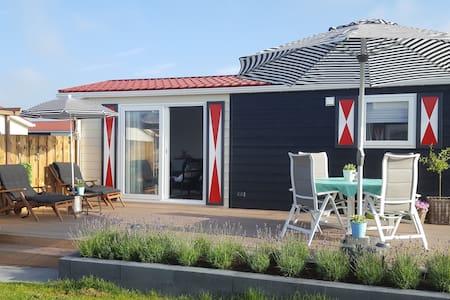 4 persoons luxe chalet in Zeeland (Walcheren) - Chalet