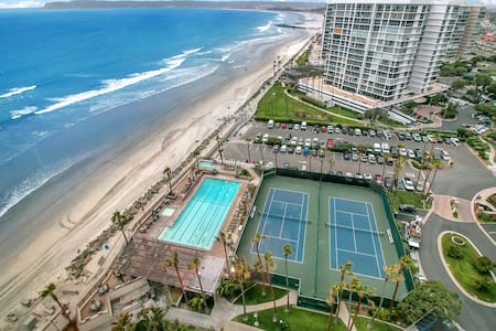 Beachfront Penthouse Coronado CA - Appartement en résidence